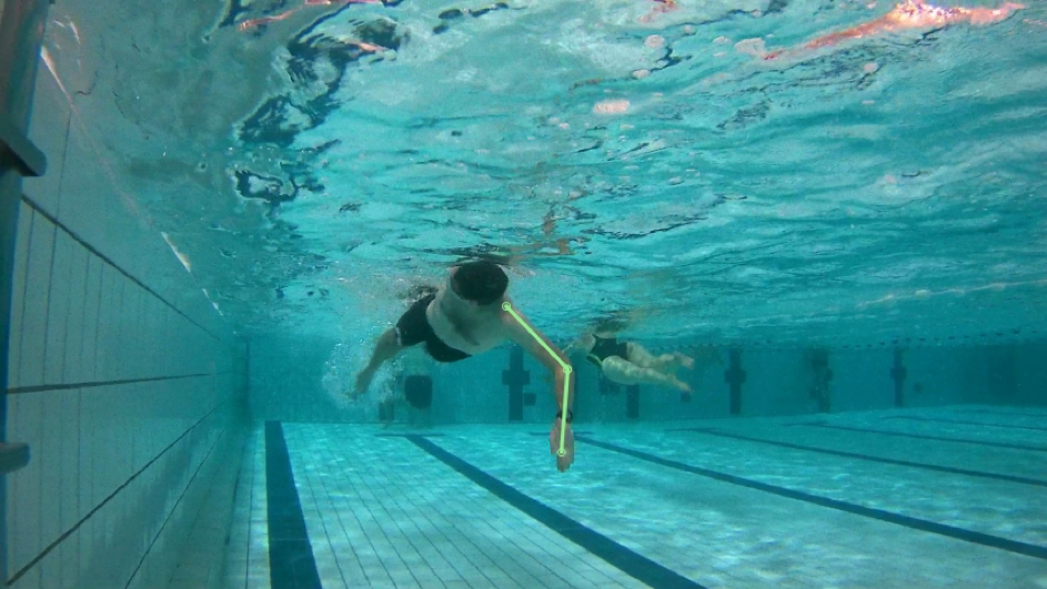 Zwemtechniek Doorhalen