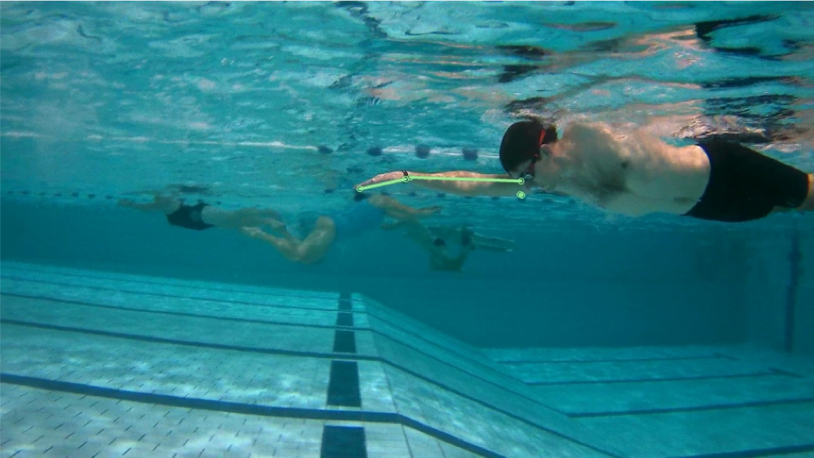 Zwemtechniek Drijffase